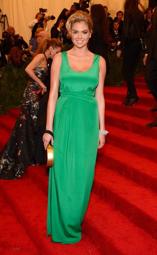 Kate Upton at the Met Gala 2013.