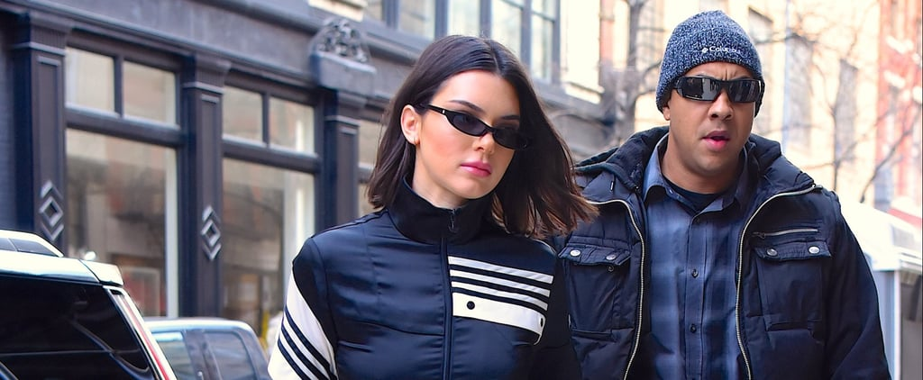 Kendall Jenner's Adidas Track Suit