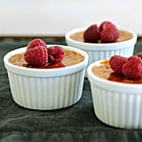 Top this classic crème brulée recipe with fresh raspberries for an extra dose of sweet.
