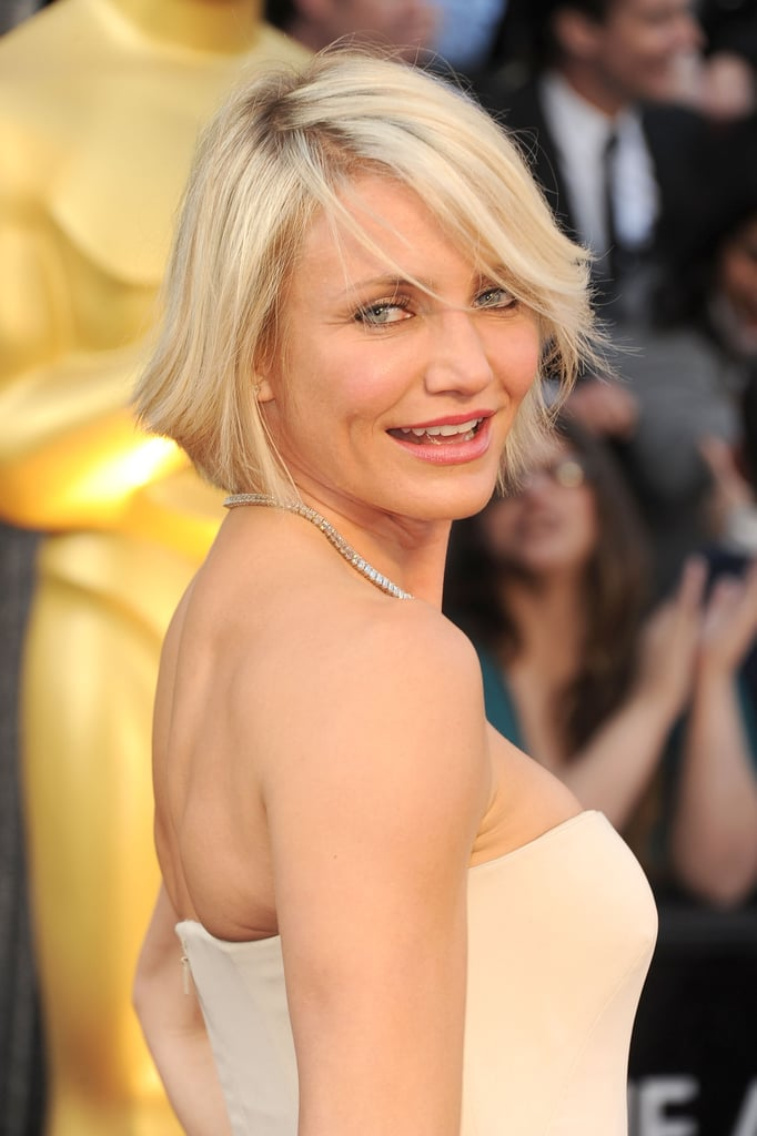Cameron Diaz at the Oscars 2012.