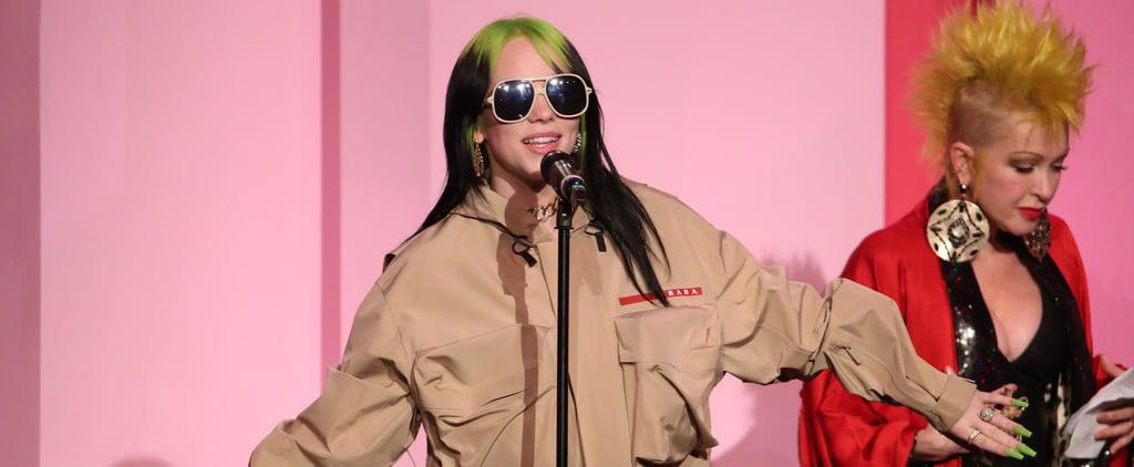 Watch Billie Eilish's Billboard Woman of the Year Speech