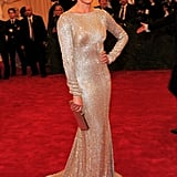 Cameron Diaz stepped onto the red carpet at the Met Gala.