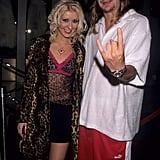 And Christina Posed With Kid Rock