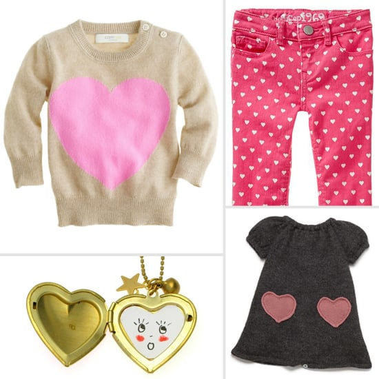 Modern Valentine's Day Clothing For Girls
