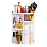 Sanipoe 360 Makeup Organizer, DIY Detachable Spinning Cosmetic Makeup Caddy Storage