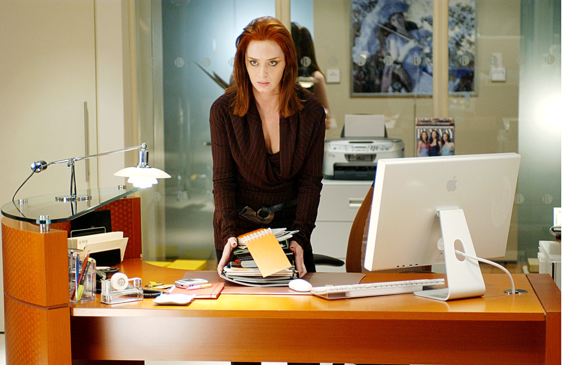 THE DEVIL WEARS PRADA, Emily Blunt, 2006, TM and Copyright  20th Century Fox Film Corp. All rights reserved, Courtesy: Everett Collection