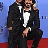 Lion stars Sunny Pawar and Dev Patel stole our hearts with this cute red carpet appearance in 2017.