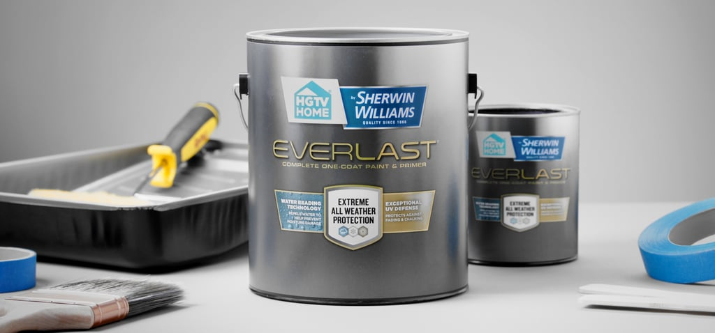 Why to Use HGTV Home by Sherwin-Williams Everlast Paint