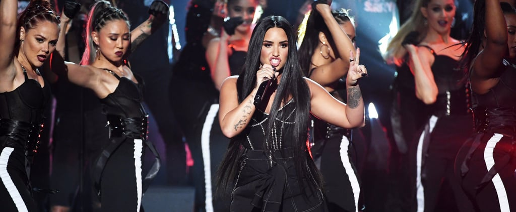 Demi Lovato Claps Back at Trolls With a Fiery AMAs Performance