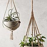 Anthropologie Kiri Wood Hanging Planter ($68)