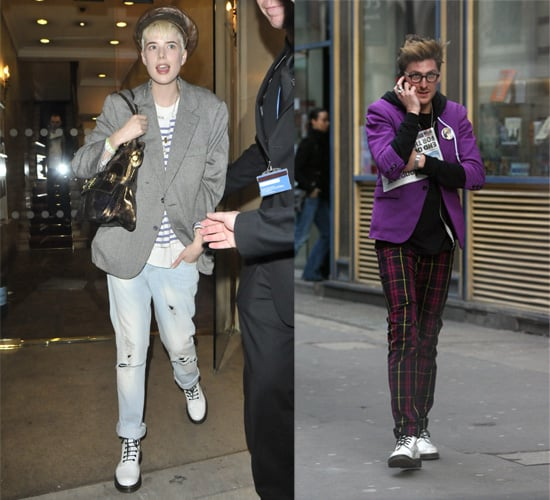 Do Agyness and Henry Holland Share Shoes?