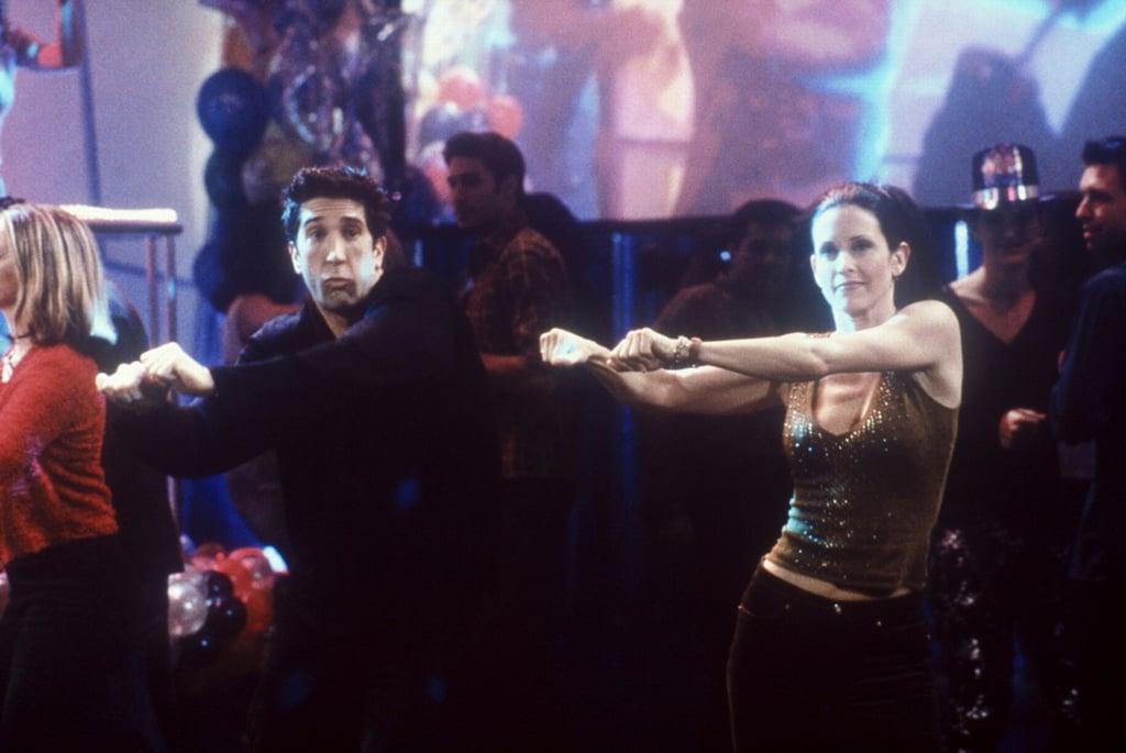 Courteney Cox and Ed Sheeran Re-Create Friends Dance | Video