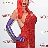 "Heidi Klum took the phrase ""go big or go home"" to heart (or, to chest, rather) when she dressed up as Jessica Rabbit during her annual Halloween bash at Lavo in NYC in 2015."
