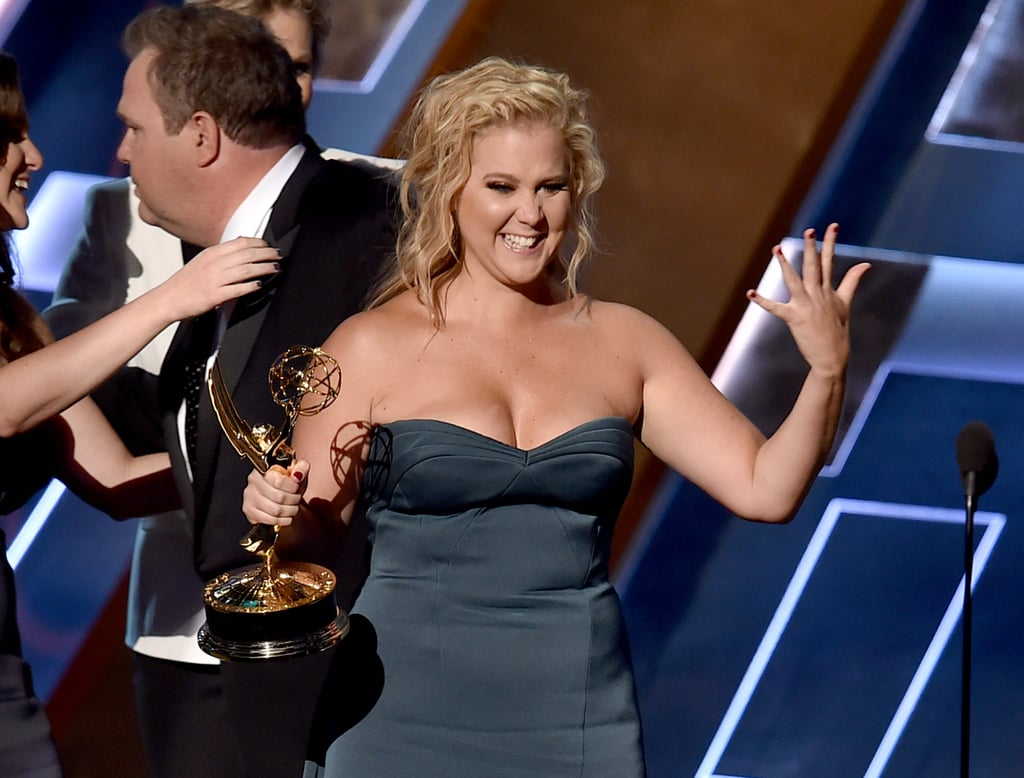 Amy Schumer at the 2015 Emmy Awards