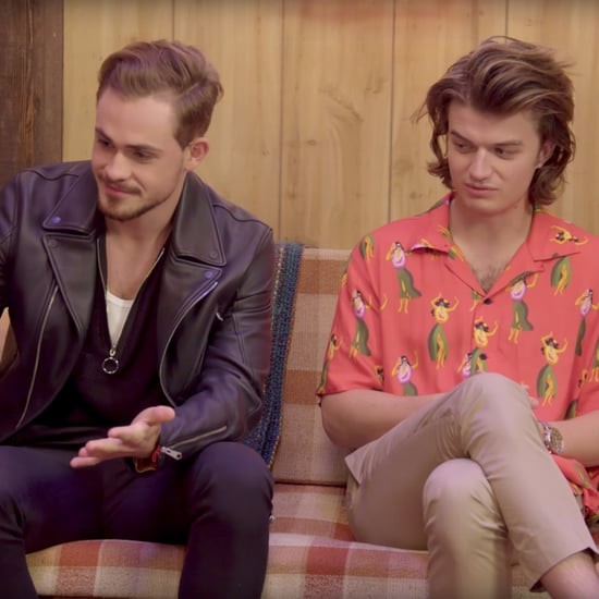 Joe Keery and Dacre Montgomery Stranger Things Interview