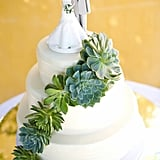 Summery Wedding Cake