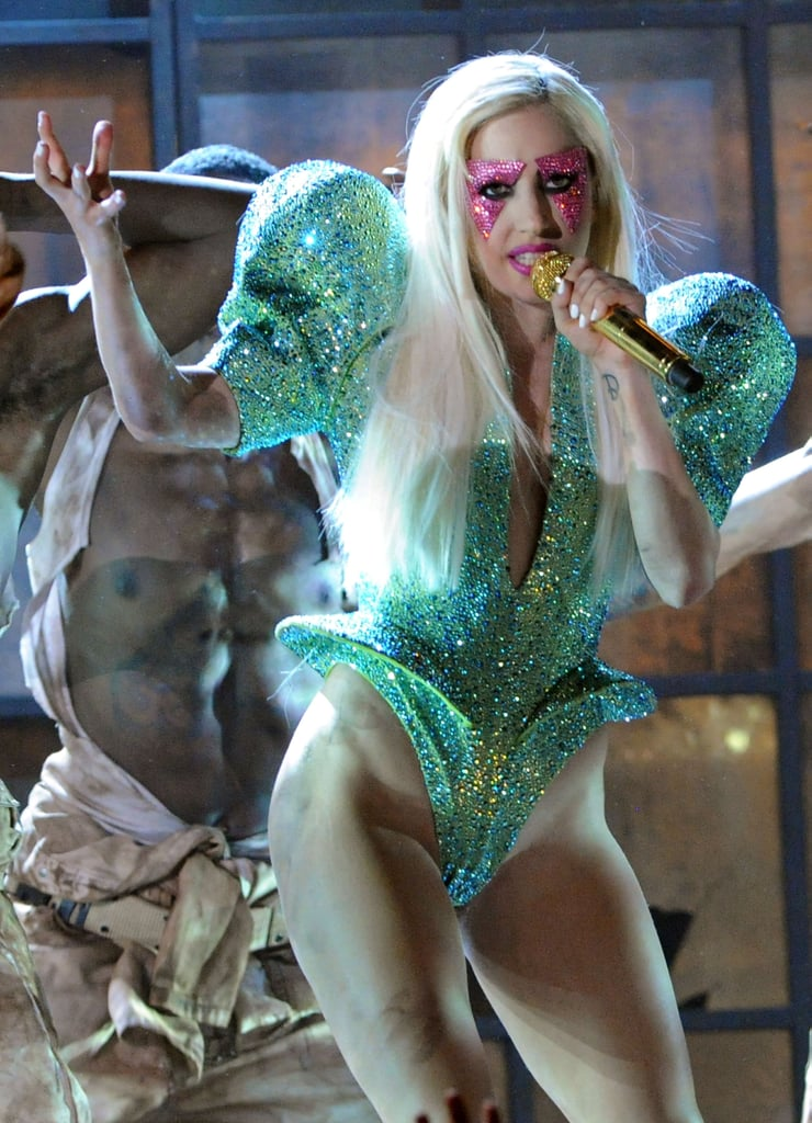 Lady Gaga in Giorgio Armani