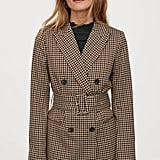 H&M Double-breasted Belted Jacket