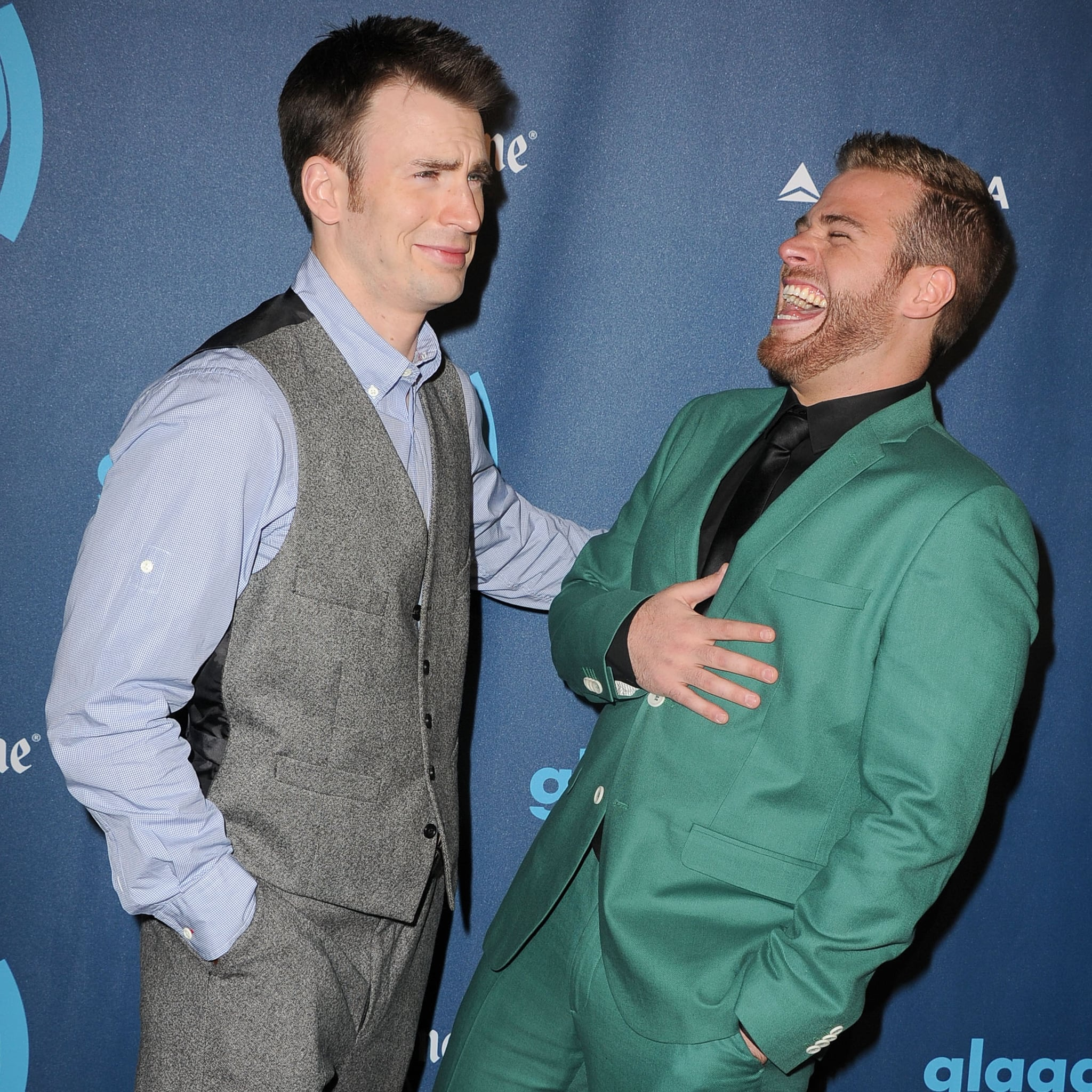 Pictures of Chris Evans With His Brother Scott | POPSUGAR Celebrity