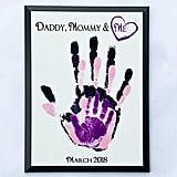 Parent and Child Handprint Keepsake