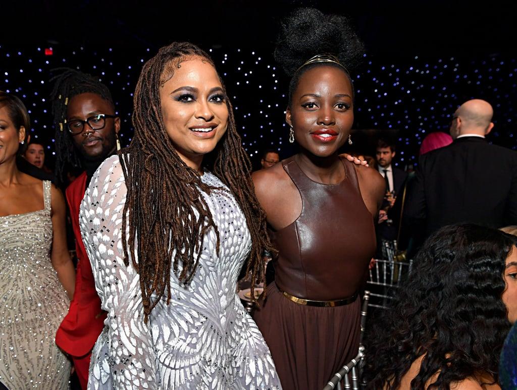Ava Duvernay and Lupita Nyong'o at the 2020 Critics' Choice Awards