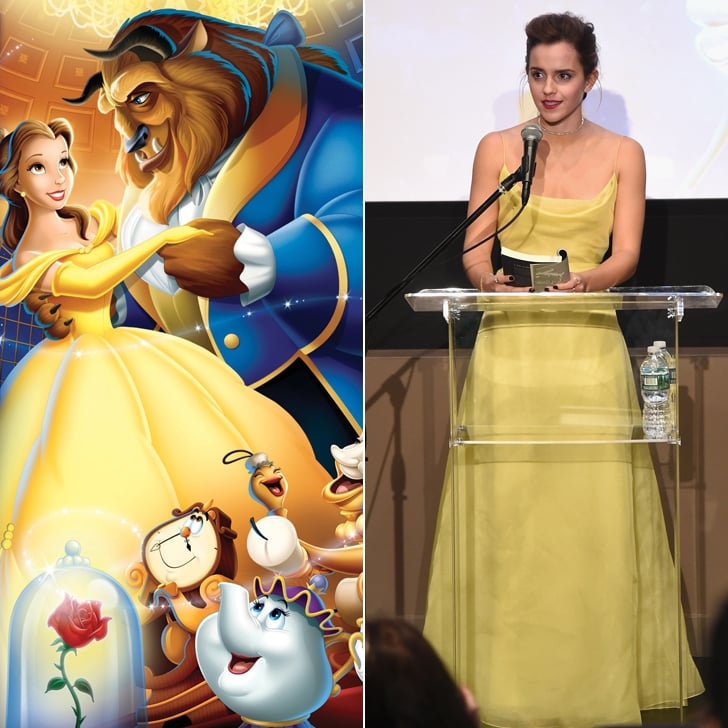 The Organza Dress Was a Nod to Her Character Belle's in Beauty and the Beast