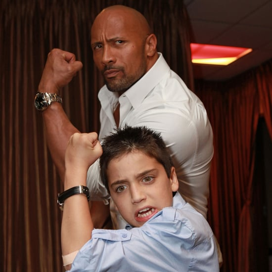 Dwayne Johnson's Cutest Pictures With Kids