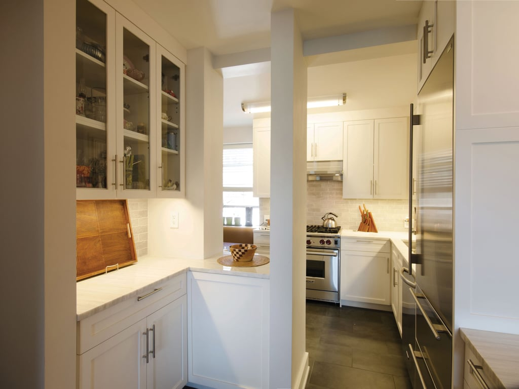 Tiny Kitchens Design Tips To Make A Tiny Kitchen Feel Bigger Popsugar Home