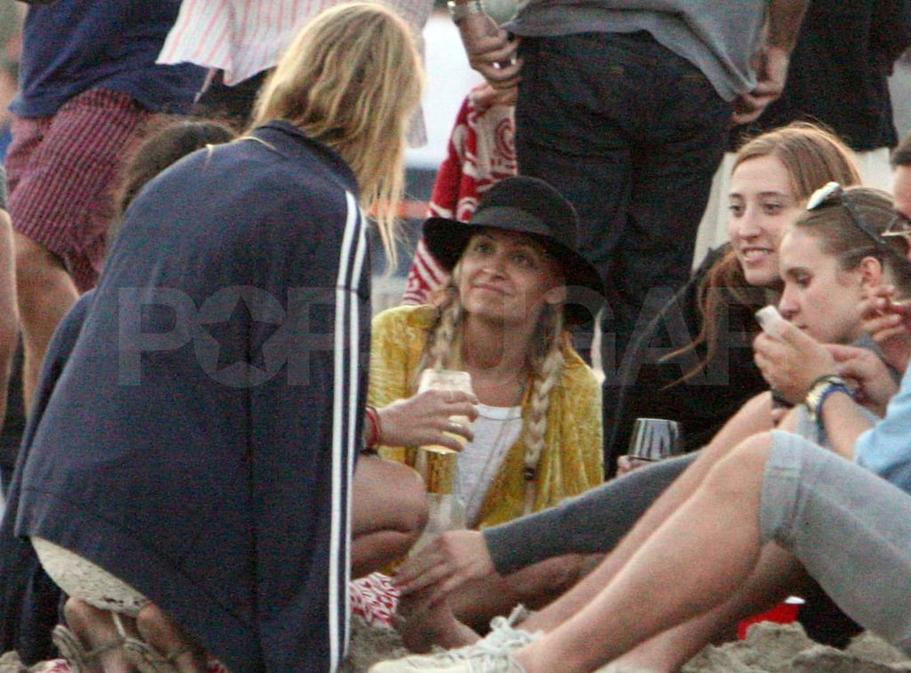 Nicole Richie spends Fourth of July in Malibu.