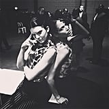 Kendall Jenner and Joan Smalls