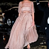 Karlie Kloss's Dior Gown November 2018