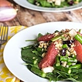 Jicama Salad With Asparagus and Grapefruit Dressing
