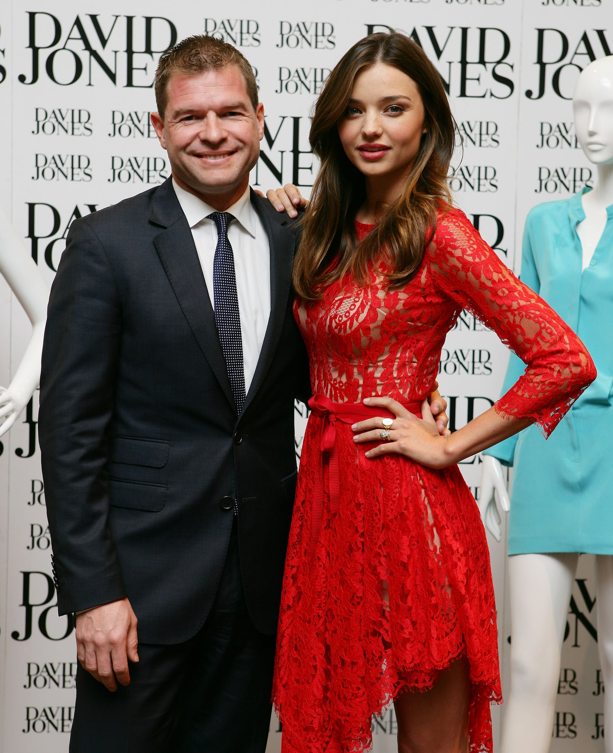 Sacha Laing and Miranda Kerr