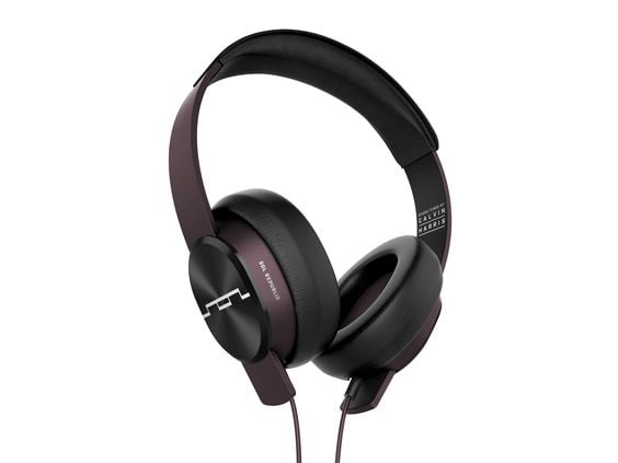 """The headphones: Master Tracks XC, Studio Tuned by Calvin Harris ($250) The why: """"The sound is so smooth and really immerses you. Plus, they are great for traveling!"""" — Christen Nino De Guzman, community and marketing coordinator"""