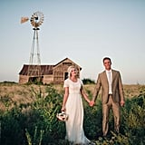 """""""The flat grassland, the farmhouse from the 1800's, & the windmill all seem so very distinctly Oklahoma! It's by far my favorite."""" — Tom and Samantha Hibben"""