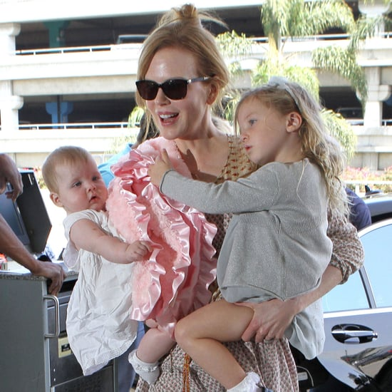 Nicole Kidman With Sunday and Faith Pictures