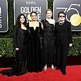 America Ferrera Christian Siriano Dress Golden Globes 2018