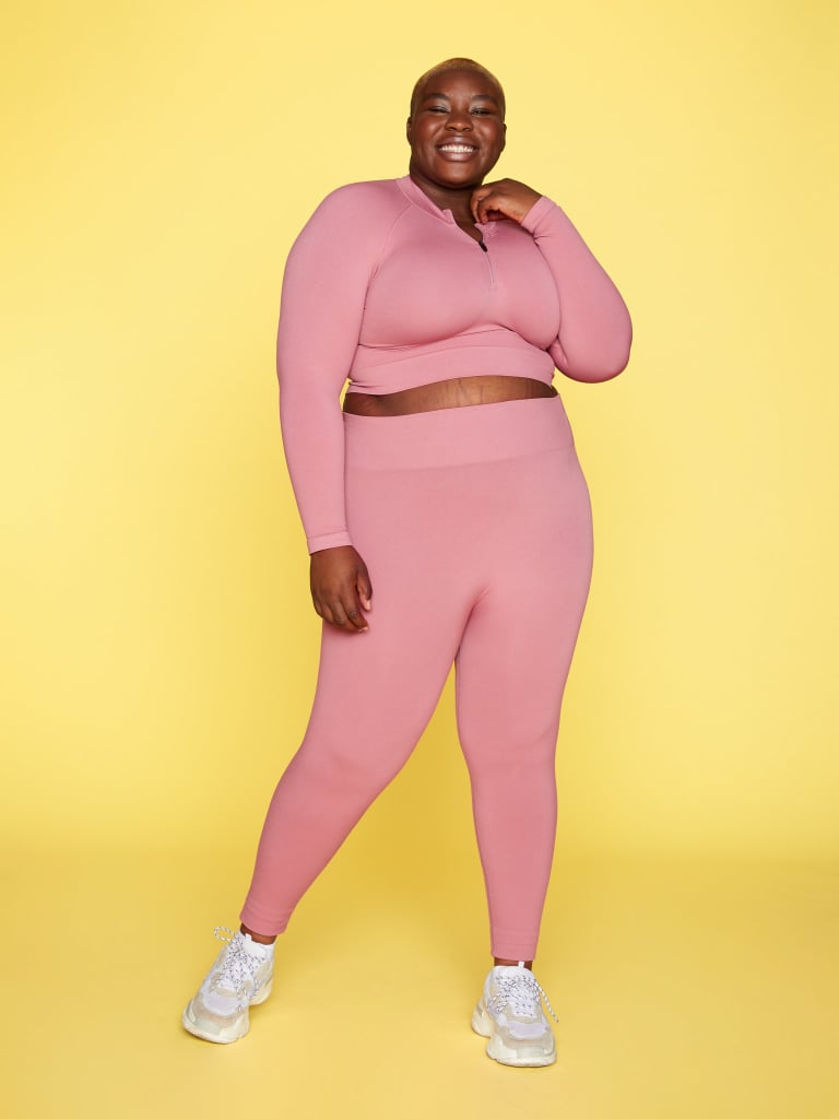 Tala Dusty Pink Aster Crop and Zennia Leggings