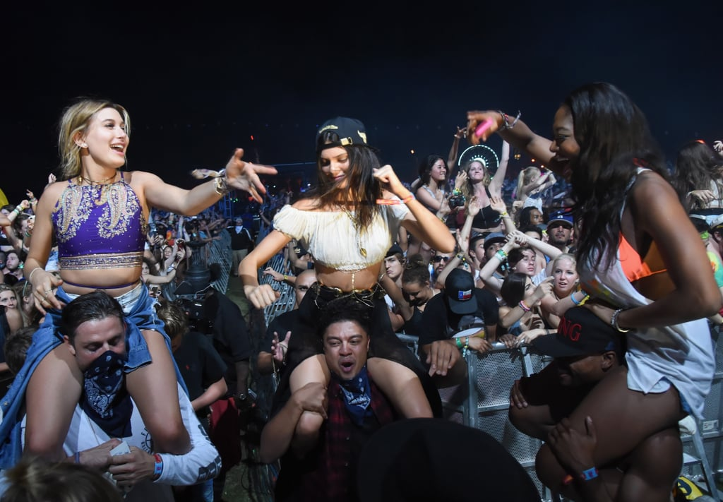 Kendall Jenner and Gigi Hadid's Coachella Outfits