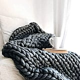 Hygge & Cwtch Chunky Knit Blanket Throw