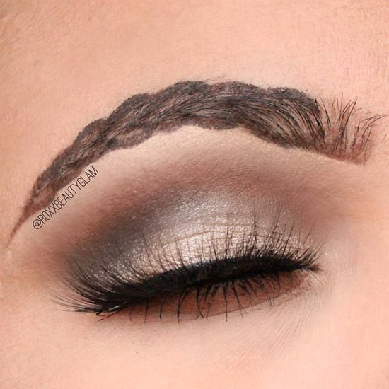 Braided Brow Trend