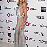 Heidi Klum Proved That You Can Find a Dress With Cutouts AND Sheer Details — and Still Be a Mum