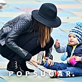 Miranda Kerr and Flynn Playground NYC | Pictures
