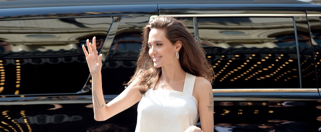 Angelina Jolie's Givenchy Set Completely Transforms When the Light Hits