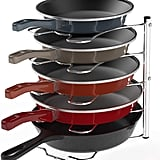 Simple Houseware Kitchen Cabinet Pantry Pan and Pot Lid Organizer