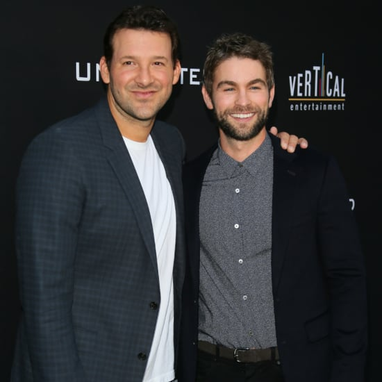 Chace Crawford and Tony Romo on Red Carpet July 2016