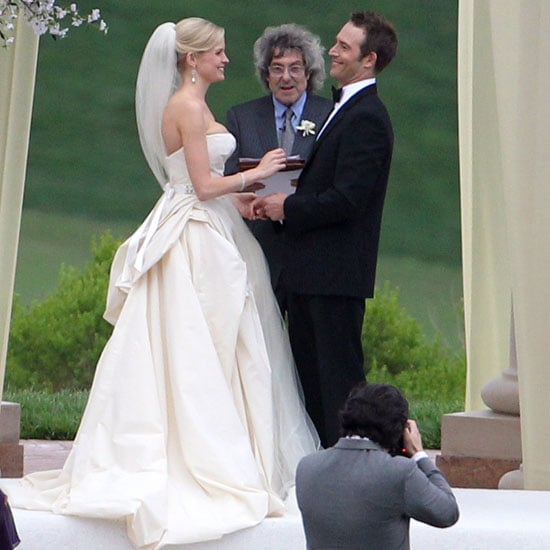 Celebrity Wedding Vows Examples: Michael Vartan And Lauren Sklar Said Their Vows At Pelican