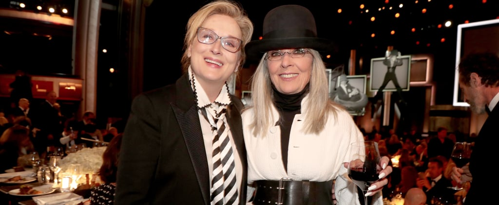 Meryl Streep Dressed as Diane Keaton at AFI Event 2017