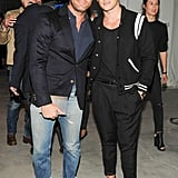 Nate Berkus and Jeremiah Brent made a handsome couple while previewing the 3.1 Phillip Lim for Target collection.