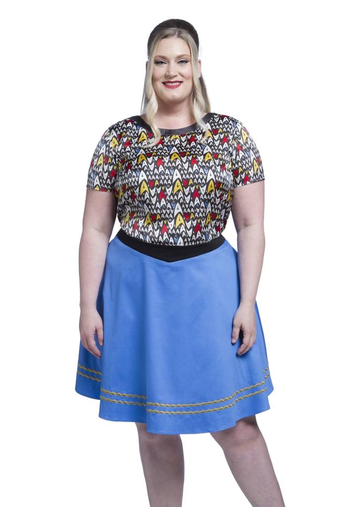 Star Trek TOS Uniform Skirt — Blue ($70)